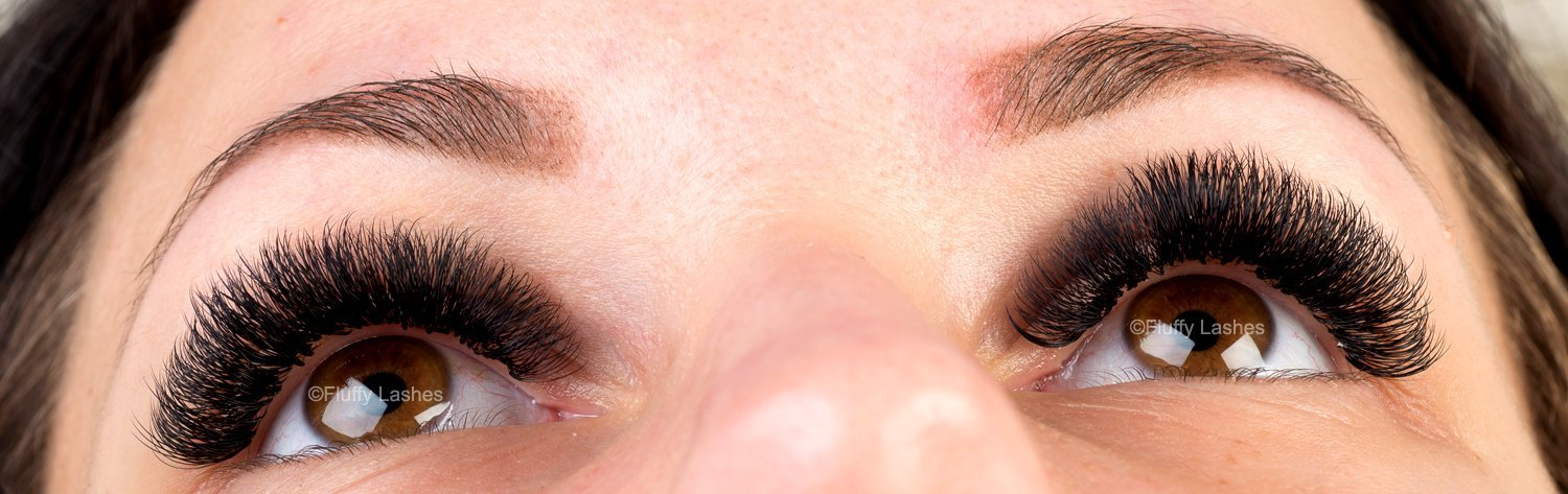 2D 3D 4D 5D Volume Eyelash Extensions Before and After Pictures
