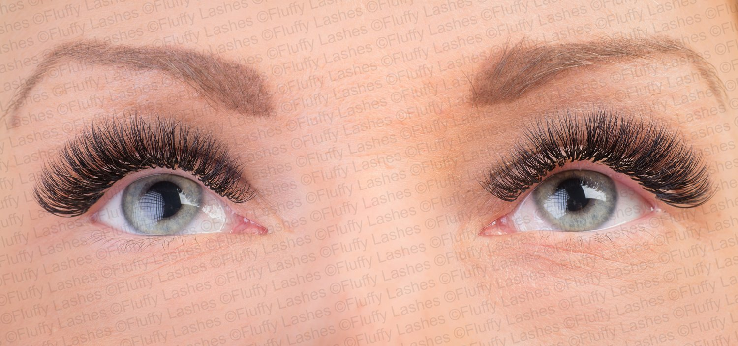 5a16f244635 2D 3D 4D 5D Volume Eyelash Extensions Before and After Pictures