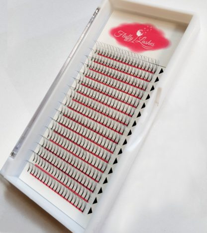 volume lashes wide pre made fans